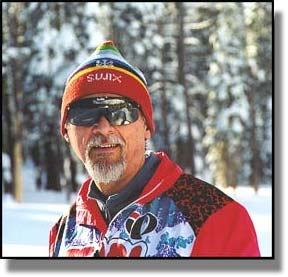 Ron Hilbert Cross Country Skiing Royal Gorge 1/13/2001